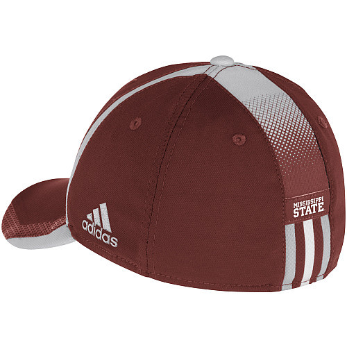 Adidas NCAA College Football Curved Hat Cap Size S/M MISSISSIPPI State