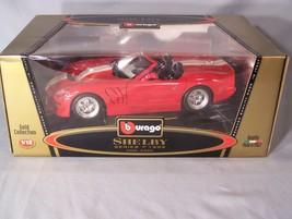 Shelby Series 1 1999 1:18 scale diecast Burago Bburago Gold Collection - $42.37