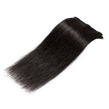 """24"""" Remy Clip in on Hair Extensions Remy Human Hair Standard Weft 80g 8 Pcs 18 C image 4"""