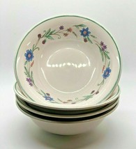 """Oneida Ava China Cereal Bowl Flowers Floral 6 1/4"""" - $4.46"""