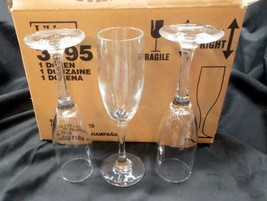 Case of 12 Libbey # 3795 Embassy 6 ounce Champagne Flutes - $24.95