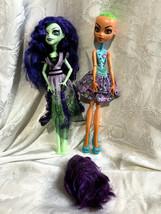 Monster High Inner Monster Shockingly Shy Scared Silly Amanita Nightshade Dolls - $34.99