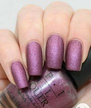 OPI WE'LL ALWAYS HAVE PARIS SUEDE Purple Nail Polish Lacquer .5oz F20 VE... - $61.10