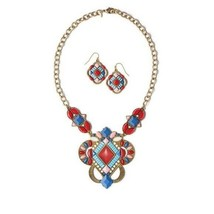Avon Boho Princess Necklace & Earring Set - $19.99