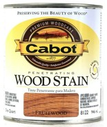 1 Can Cabot 32 Oz Penetrating Wood Stain 8122 Fruitwood Colorfast Fade R... - $19.99