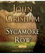 Sycamore Row by John Grisham (2013, CD, Abridged), FREE Shipping Worldwide - $19.99