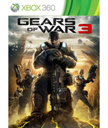 Gears of War 3, xbox 360/ONE game Full download card code [DIGITAL] - $11.44