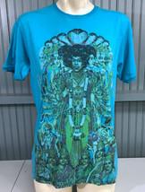 Jimy Hendrix Experience Blue Made In USA Medium T-Shirt  - $13.75