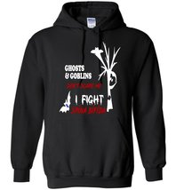 Ghost and Goblins I Fight Spina Bifida Blend Hoodie - $32.99+