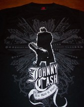 JOHNNY CASH The Man in Black T-Shirt SMALL NEW - $19.80