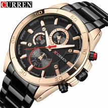 Mens Watches CURREN Top Brand Luxury Quartz Watch Fashion Casual Business Watch  - $37.24