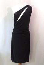 Lauren Ralph Lauren Colourblocked Contrast Jersey Sheath Dress Size 14 #... - $39.59