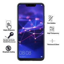 2pcs 9H Tempered Glass Huawei Mate 20 Lite Full Cover Protective Film - $10.86