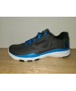 Under Armour Shoes Youth Size 7 Gray/Blue 1258757-020 - $59.39