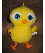 "CHICK WITH HEADPHONES Brand New Plush Stuffed Animal with Tags 13"" SUGAR... - $14.99"