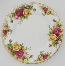 Royal Albert Old Country Roses Bread Dessert Plate Bone China - $10.99
