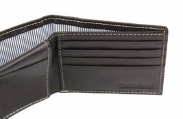 Timberland Men's Genuine Leather Passcase Credit Card Id Billfold Wallet image 13
