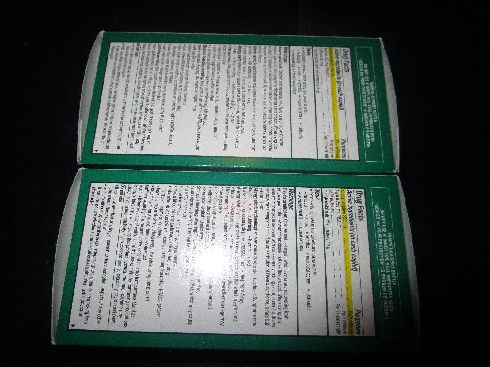 Excedrin Extra Stark Kapseln 2-300 Anzahl Verpackungen