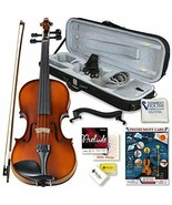 Violin Outfit 4/4 Full Size Clearance By Kennedy Violins - Carrying Case - $303.20