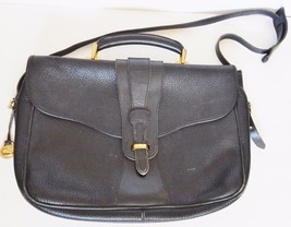 Vintage Dooney & Bourke Briefcase Laptop Bag Le... - $229.95