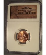 "2009-P Lincoln Cent ""Formative Years"" NGC MS 66 First Day Ceremony #G045 - $14.99"
