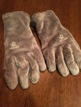 HEAD Sensatec Touchscreen Digital ThermalFUR Gloves, Pewter Grey, Large - $11.57