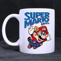 Super Mario Custom Personalized Coffee Tea White Mug - $13.99