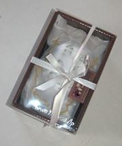 Groom Chuppah Glass Clear Gray Wedding Cup Ani Ledodi Mesh Bag Judaica Wedding image 2