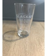 Alaskan Brewing Company Pint Glass Micro Brew Craft Beer Juneau Alaska - $12.99