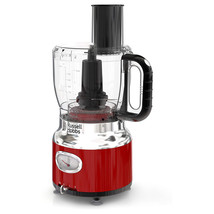 Russell Hobbs Retro Style 8 Cup Food Processor in Red - $92.91