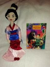 Disney's Mulan Fa Mulan 18'' Inch Plush & Disney's Mulan Hardcover Book - $84.14