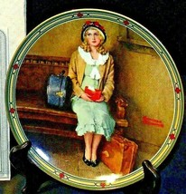 """1985 """"A Young Girl's Dream""""  by Norman Rockwell with Box ( Knowles ) AA20-CP2177"""