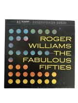 33 1/3 Vinyl Record, Roger Williams, Songs Of The Fabilous Fifties.  Two... - £2.82 GBP