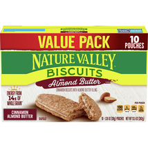 Nature Valley Biscuits, Almond Butter, 10 Ct - $6.00