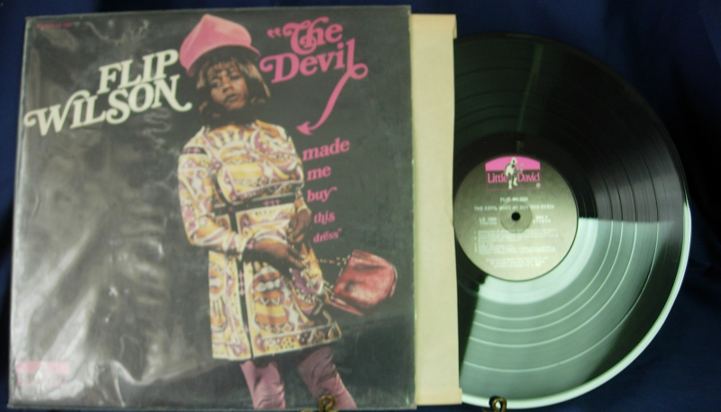 Flip Wilson - The Devil Made Me Buy This Dress - Little David 1000