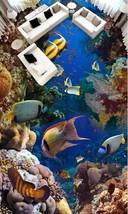 3D Stein Fisch sea 054 Fototapeten Wandbild Fototapete Bild Tapete Famili - $67.89+