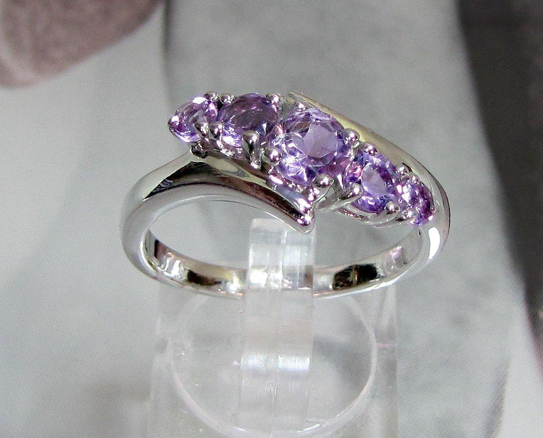 925 Sterling Silver Natural Fine Quality Heart Shape Amethyst Gemstone Handcraft