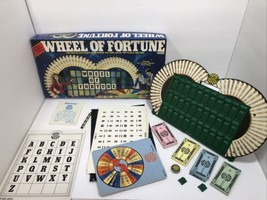 Vintage Pressman 1985 Wheel of Fortune Board Game - $15.83