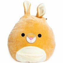 Squishmallow Kellytoy 3.5 Inch Keely The Kangaroo Plush Toy Clip on - $9.40