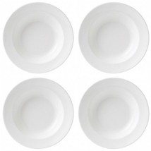 Wedgwood White Rim Soup Bowl (4) Bowls New with Tag # 501054 - $2.794,14 MXN