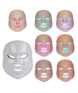 Therapy Photon LED Facial Mask Light Skin Care Rejuvenation Wrinkle Acne... - $95.88