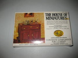 The House of Miniatures Kit Hutch Cabinet #40003 New NOS - $21.77