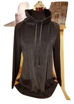 NWT Women's Croft & Barrow High neck Soft Velour Tunic Sweater w Pockets - $19.23