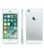 Apple iPhone Simple Mobile  SE 32GB Silver 4G LTE  Brand New  - $138.59