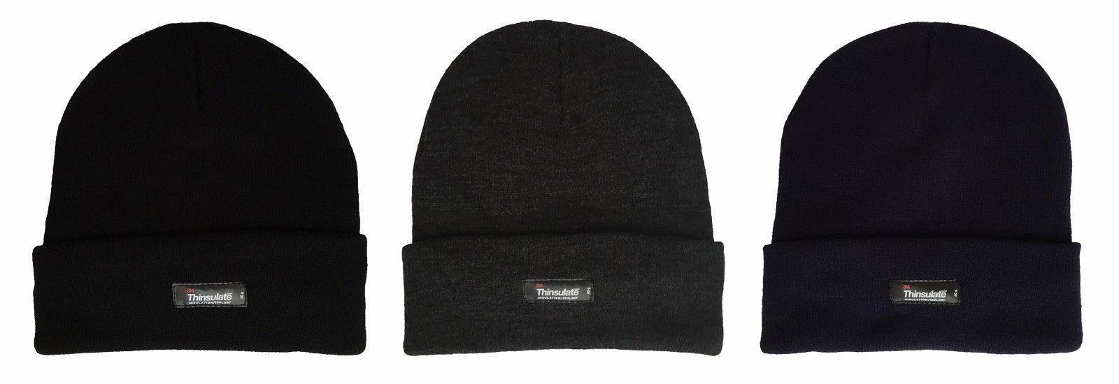 Primary image for Thinsulate - Boys Kids Warm Thermal Fleece Insulated Knit Cuff Beanie Winter Hat