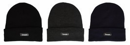 Thinsulate - Boys Kids Warm Thermal Fleece Insulated Knit Cuff Beanie Wi... - $9.99