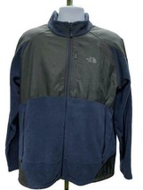 The North Face Men's TKA 100 Cascade Full Zip Jacket Fleece A24G Grey Bl... - $73.59