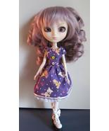 Pullip Jenny Momoko size Handmade Toy Bunnies and Ducks Doll Dress OOAK - $21.97