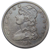 1834 Capped Bust Quarter Dollar 25¢ Coin Lot# MZ 2841