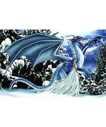 Ice Dragon 1000 pc Jigsaw Puzzle by SunsOut - $20.05